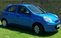 Car Hire/Rental in Johannesburg - Nissan Micra 1.2