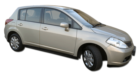 Car Hire Johannesburg - Nissan Tiida 1.6 Hatch