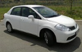 Car Hire/Rentals in Johannesburg - Nissan Tiida 1.6 Sedan
