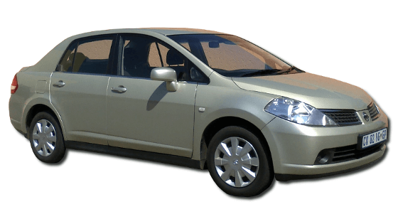 Car Hire Johannesburg - Nissan Tiida 1.6 Sedan Automatic