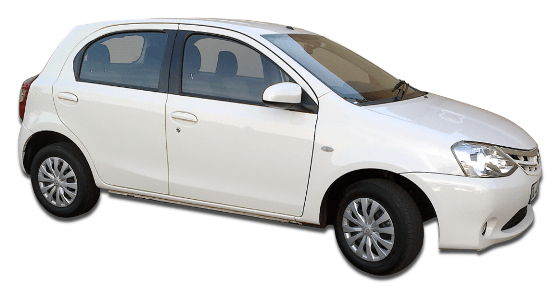 Car Hire Johannesburg - Toyota Etios 1.5 Hatch